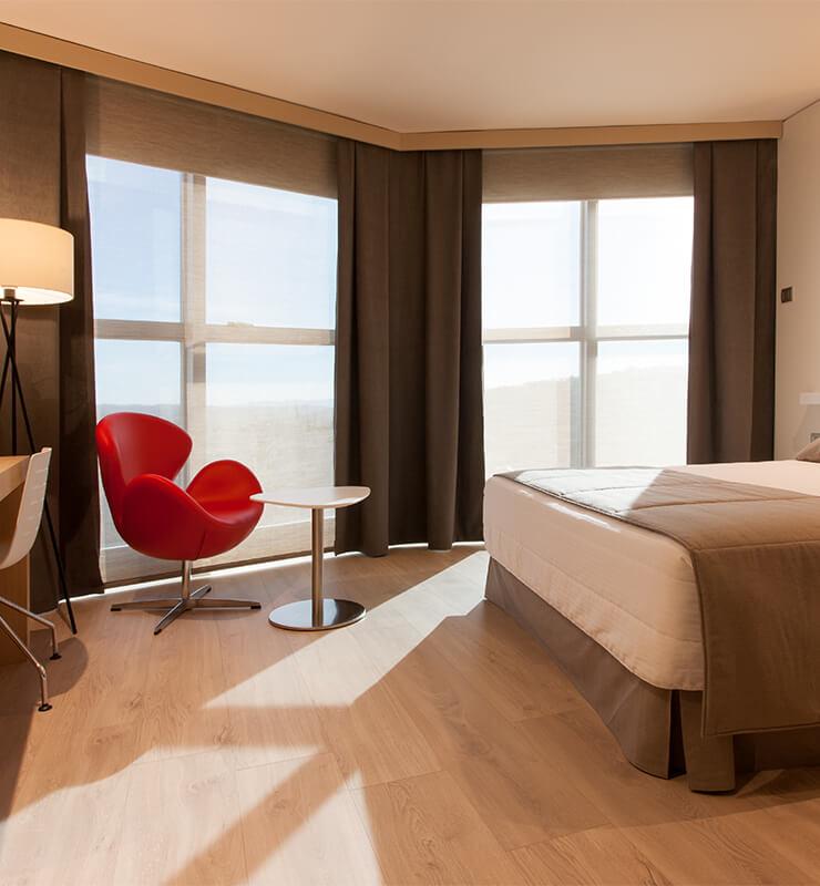 Habitación Hotel Don Cándido Terrassa