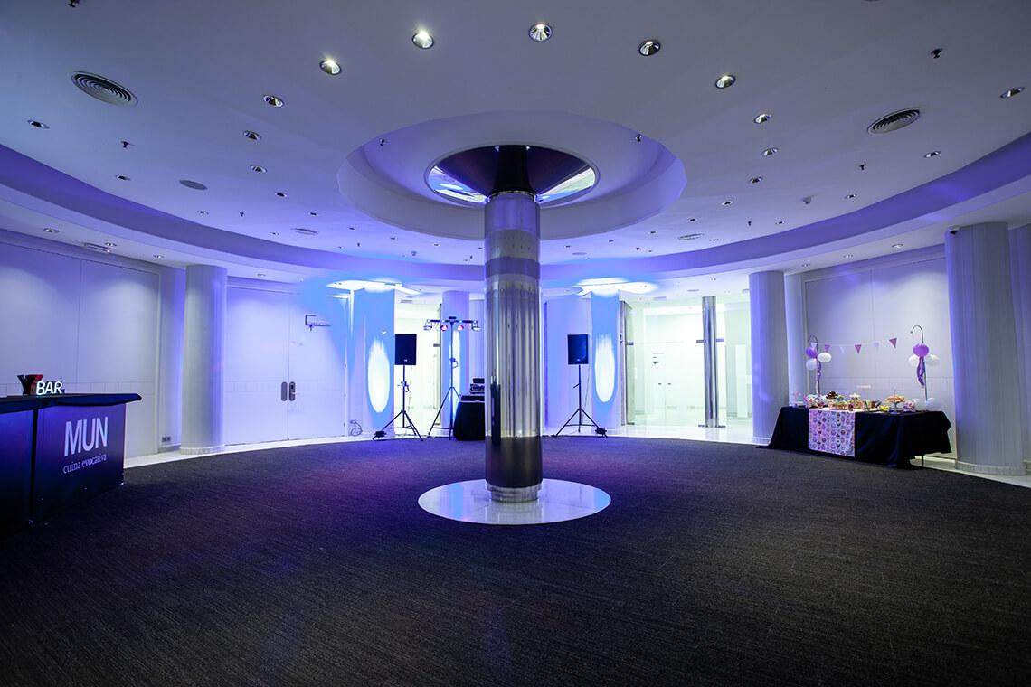 Salón La Mola para eventos Hotel Don Cándido