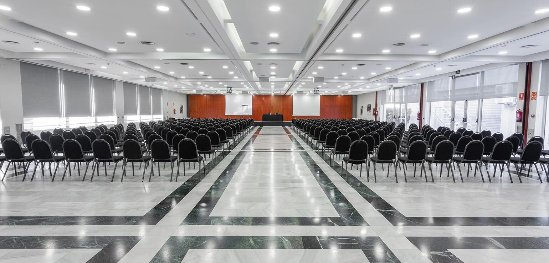 Salón Gran Egara para eventos en Hotel Don Cándido