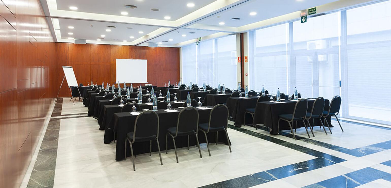 Salón Pirineu para eventos en Hotel Don Cándido