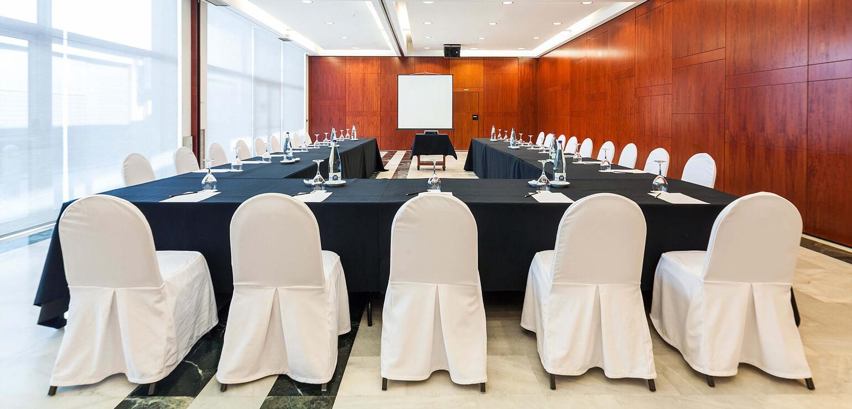 Salón Vallparadís para eventos en Hotel Don Cándido