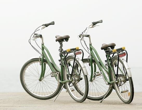 Bicicletas de paseo Hotel Don Cándido
