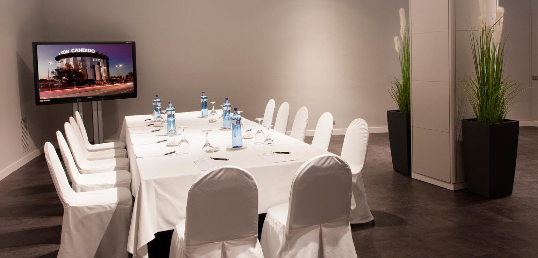 Sala Montcau para eventos en Hotel Don Cándido