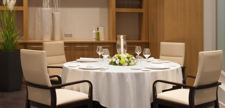 Sala Montserrat Restaurante MUN Hotel Don Cándido