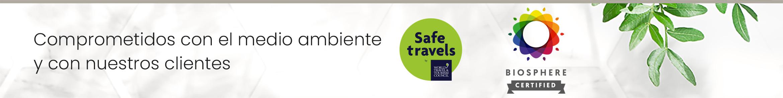 Hotel Don Cándido, Safe Travels, Biosphere